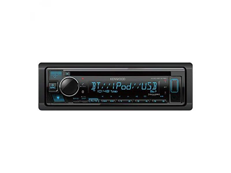 Kenwood KDC-BT378U Bluetooth Car Stereo Receiver with CD Player
