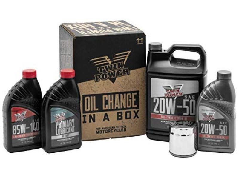 Twin Power Oil Change Kit