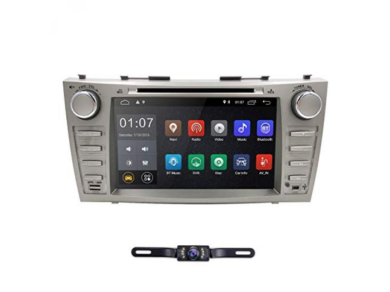 hizpo 8 Inch Android 10 Car Navigation Double Din Car Stereo Radio