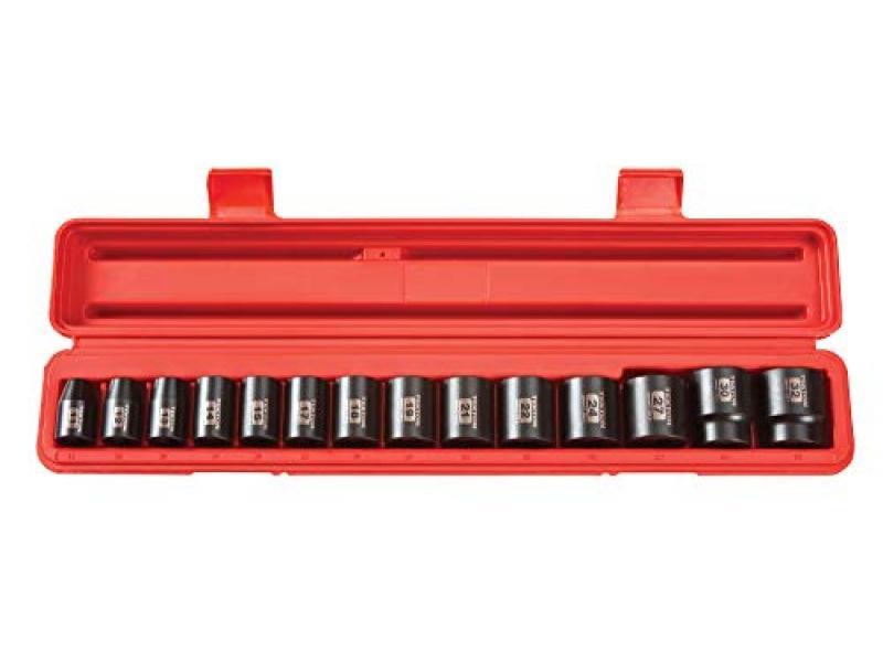 TEKTON 1/2 Inch Drive 6-Point Impact Socket Set
