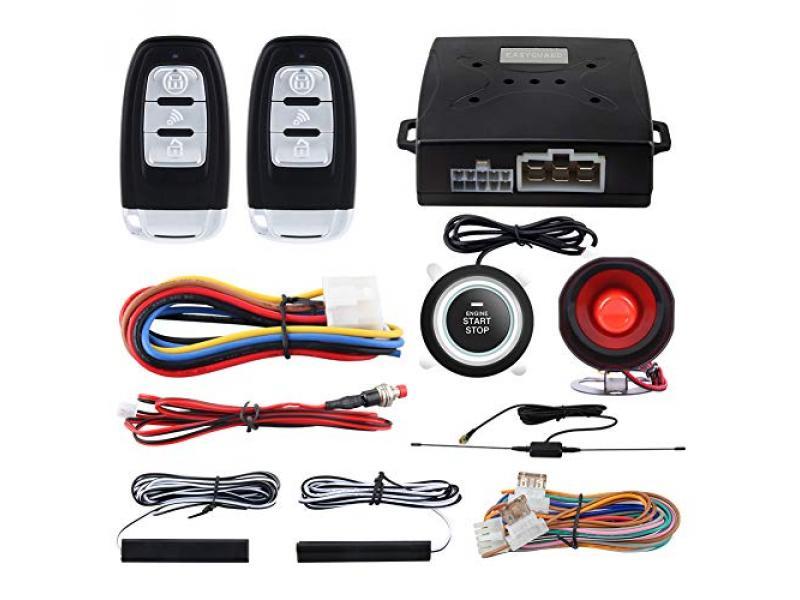 EASYGUARD EC003 Smart Key PKE Passive Keyless Entry Car Alarm System