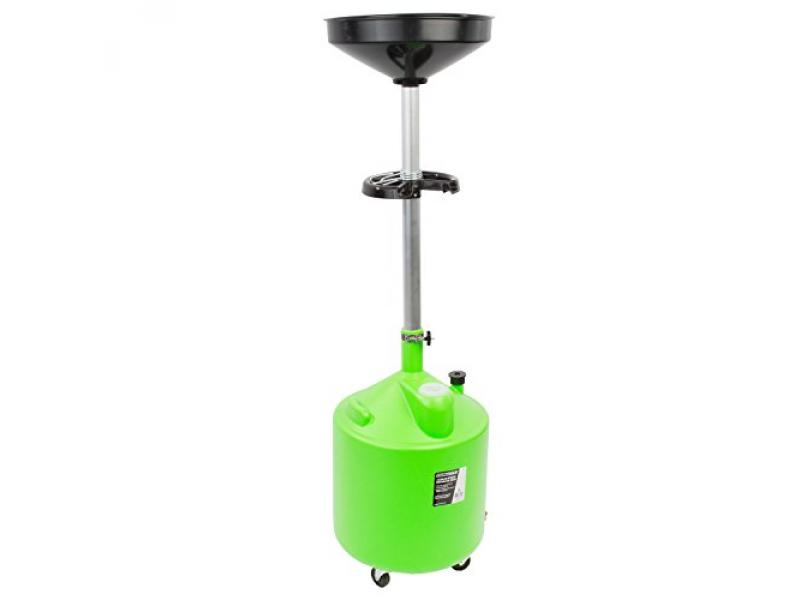 OEMTOOLS 87031 18 Gallon Upright Portable Oil Lift Drain with Oil Pan Funnel