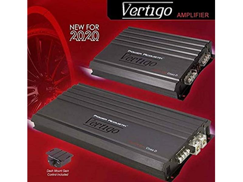Power Acoustik VA1-8000D Vertigo Series 8,000-Watt Max Monoblock Class D Amp