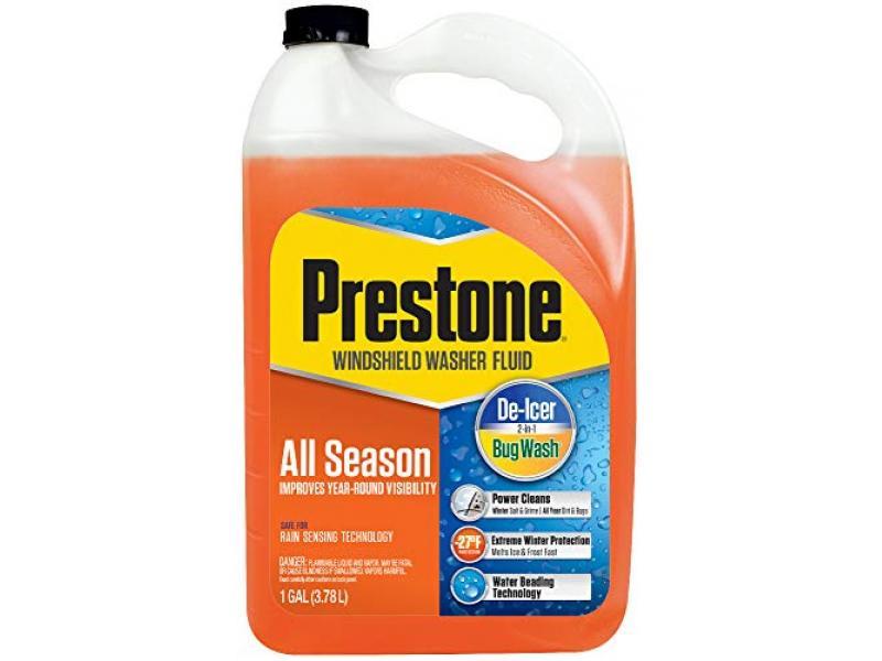 Prestone AS658 All Season 2-in-1 Windshield Washer Fluid