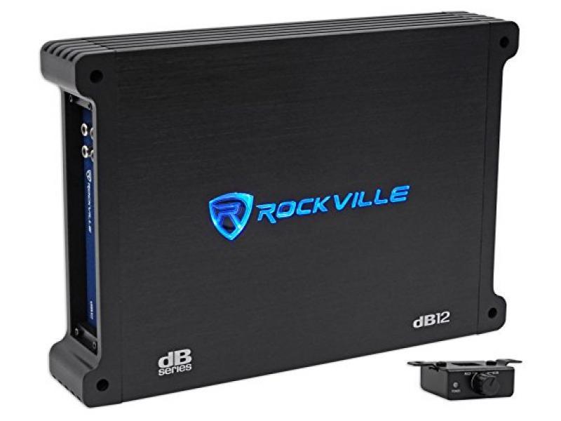 Rockville dB12 2000 Watt Peak/500w CEA rated RMS Mono 2 Ohm Amplifier