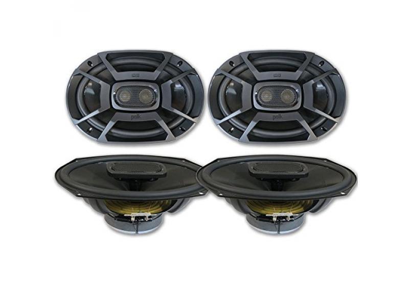 4 x Polk Audio 6x9 DB692 3-Way Audio Coaxial Speakers