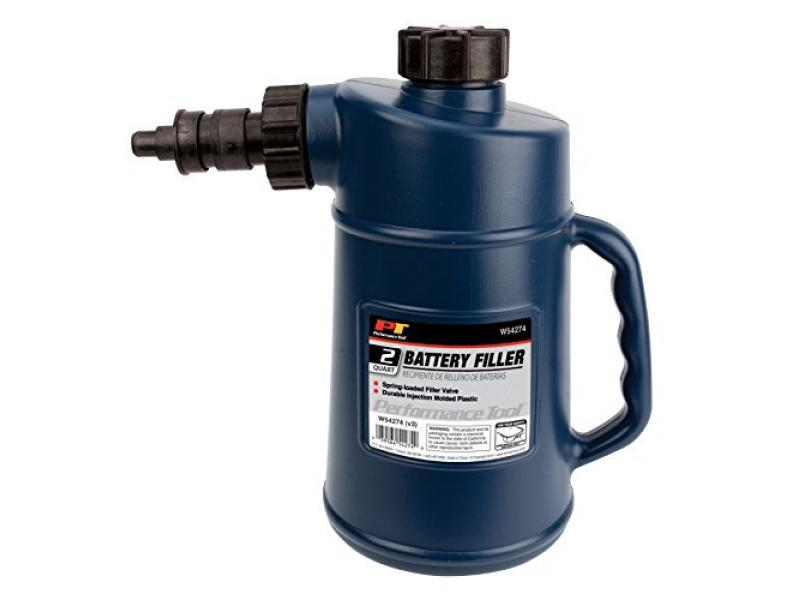 Performance Tool W54274 Battery Filler with Auto Shut Off and Drip-Free Valve