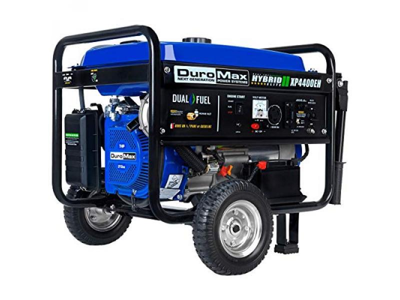 DuroMax XP4400EH Dual Fuel Portable Generator-4400 Watt