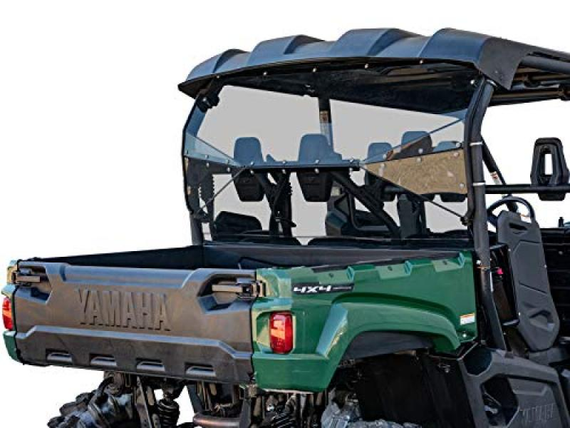 SuperATV Lightly Tinted Polycarbonate Rear Windshield