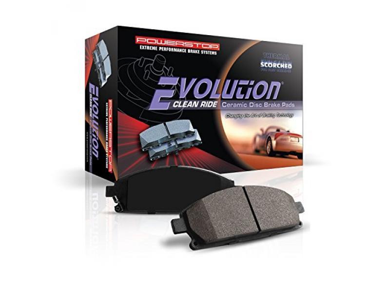 Power Stop 16-1504 Z16 Evolution Front Ceramic Brake Pads