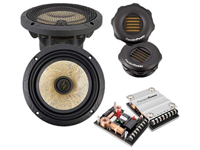 3-Way Component 6.5-inch Car Audio Sound System 400W Max
