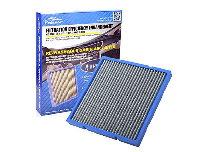 Re-Washable Car Cabin Air Filter