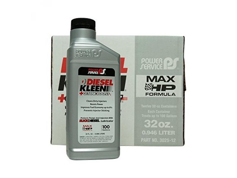 Power Service Diesel Kleen + Cetane Boost - 12/32oz. Bottles
