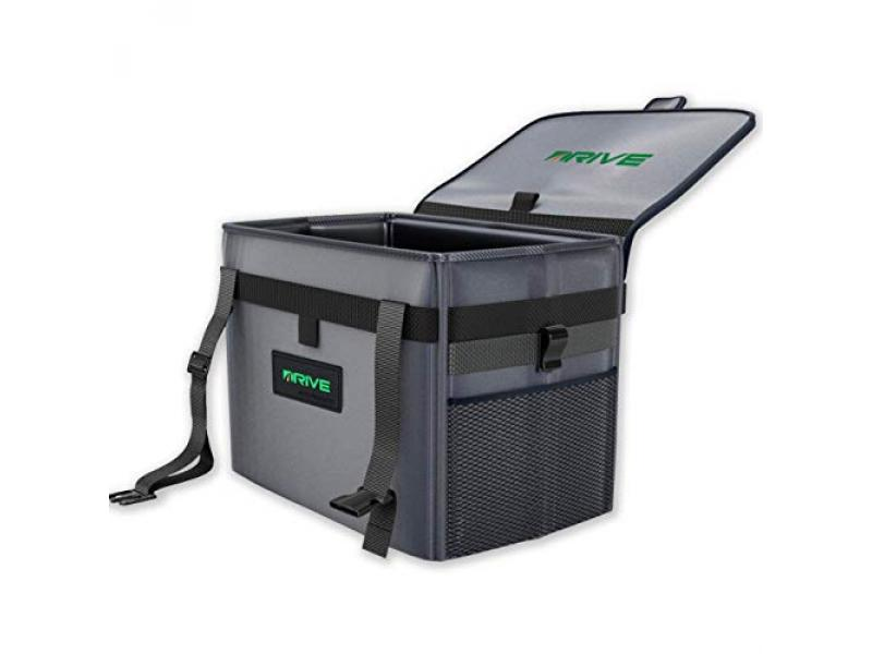 Leak Proof Trash Container with Lid and Accessories