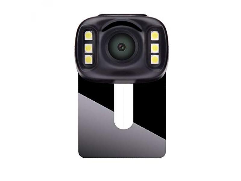 LeeKooLuu 2510GHz Wireless Backup Camera with 6 LED Lights