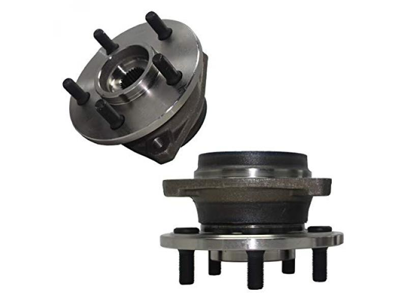 Detroit Axle - Front Wheel Hub and Bearing Assembly