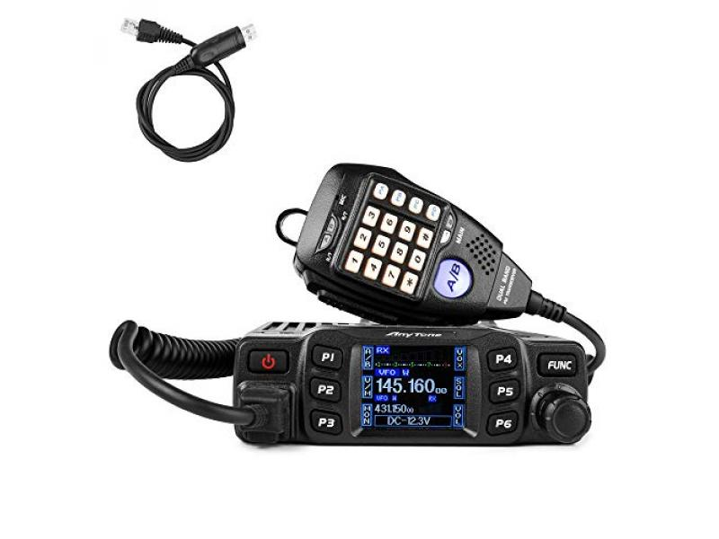 Mobile Radio Transceiver Dual Band 25W VHF