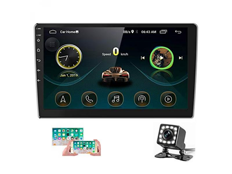 10.1 Inch Android Car Stereo Double Din Car Radio with Bluetooth