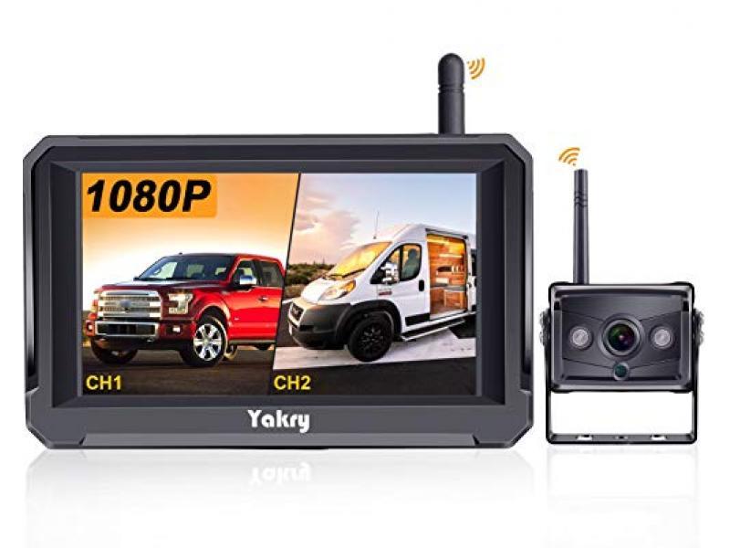 Yakry Y22 HD 1080P Digital Wireless Backup Camera 5