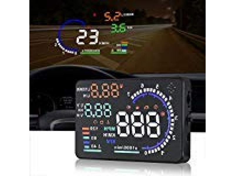 A8 HUD Head up Display Speedometer