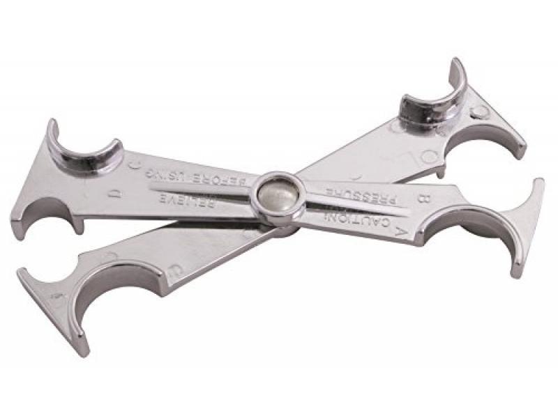 Spring Lock Scissor Disconnect for AC/Fuel Line