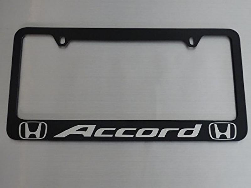 AtoZCustoms Honda Accord License Plate Frame