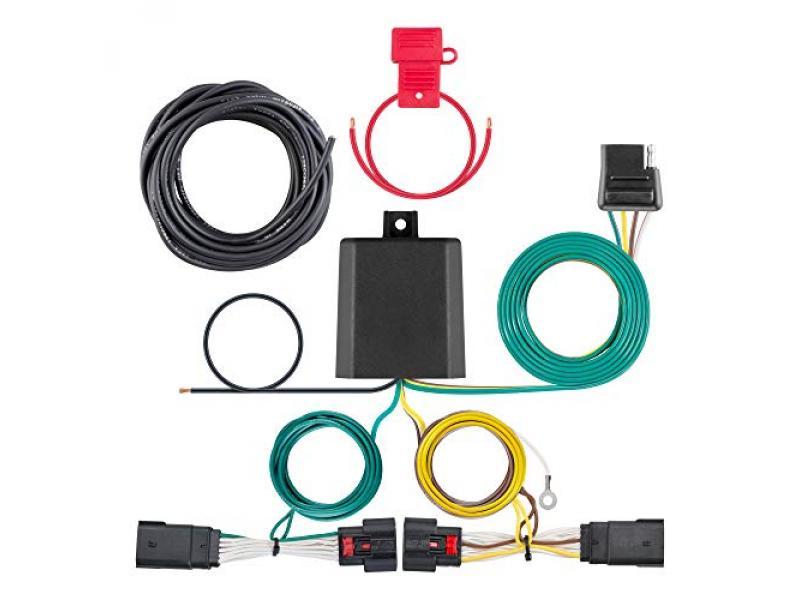 CURT 56407 Vehicle-Side Custom 4-Pin Trailer Wiring Harness
