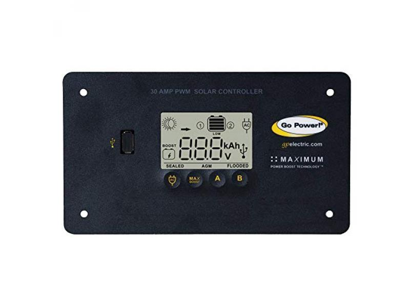 Go Power By Valterra GP-PWM-30-UL Solar Controller