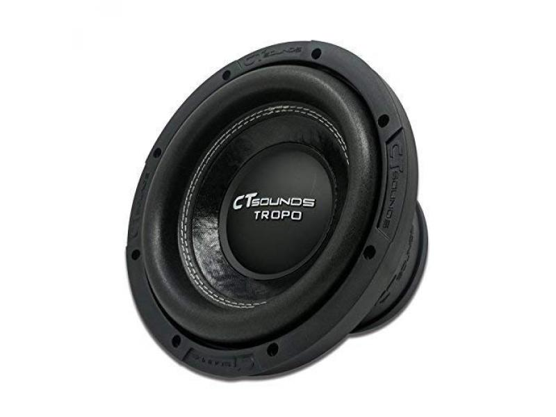 CT Sounds Tropo 8 Inch Car Audio Subwoofer 250w RMS Dual 4 Ohm