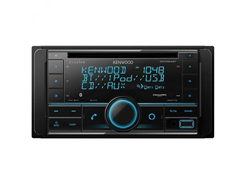 DPX594BT Double DIN Bluetooth In-Dash Car Stereo