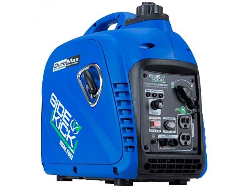 DuroMax XP2200EH Dual Fuel Portable Inverter Generator-2200 Watt