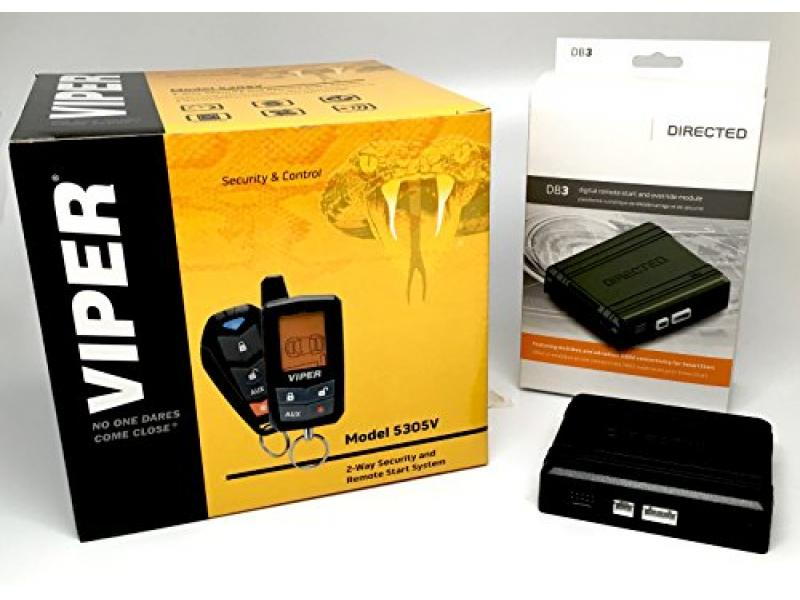 Click & ADD Viper 5305V 2-Way LCD Security Alarm
