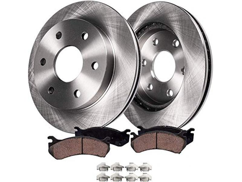 Detroit Axle - Front Brakes Replacement Kit