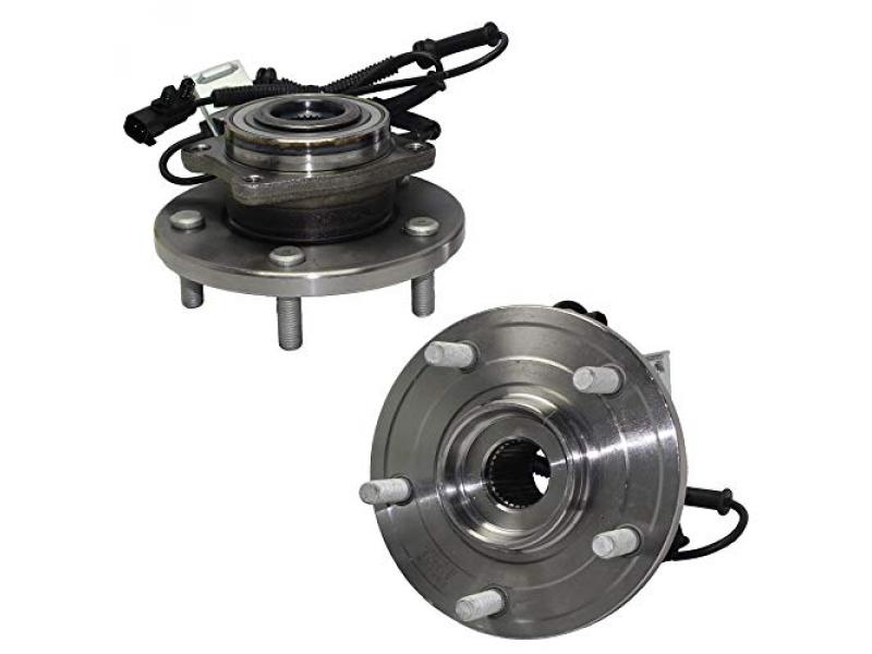 Detroit Axle - Front Wheel Hub & Bearing Assembly