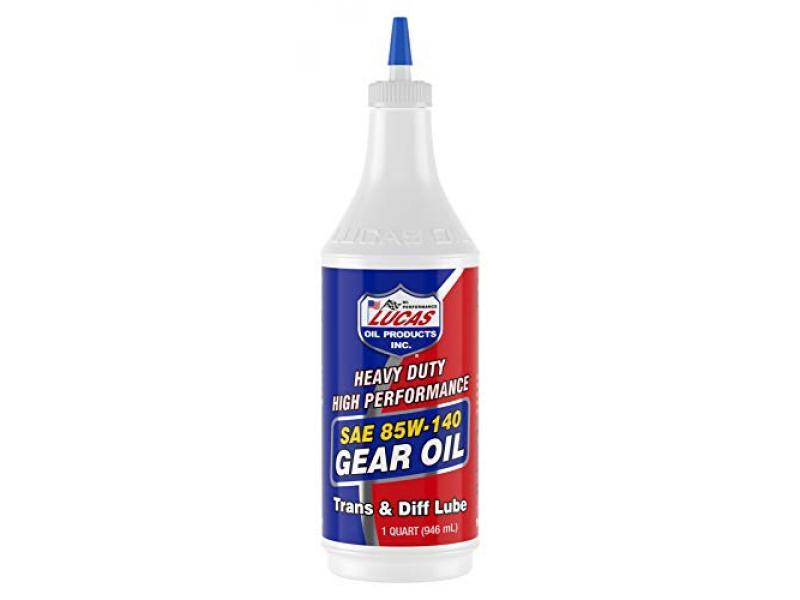 Lucas Oil LUC10042 SAE 85W-140 Heavy Duty Gear Oil