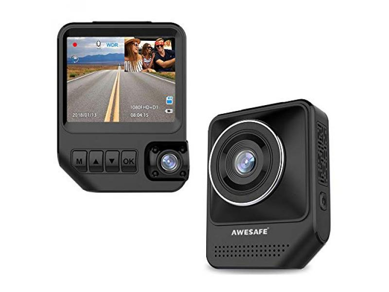 Dual Dash Cam for Cars 1080P Front and Cabin Inside Cameras