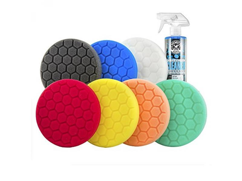 Chemical Guys BUF_HEXKITS_8 Hex-Logic Buffing Pad Kit