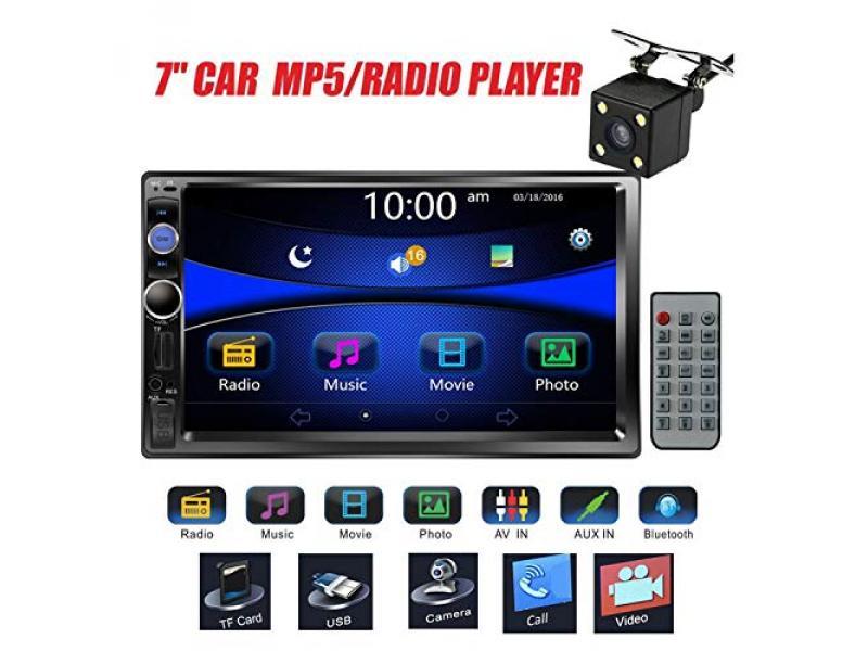 Regetek Car Stereo Double Din 7