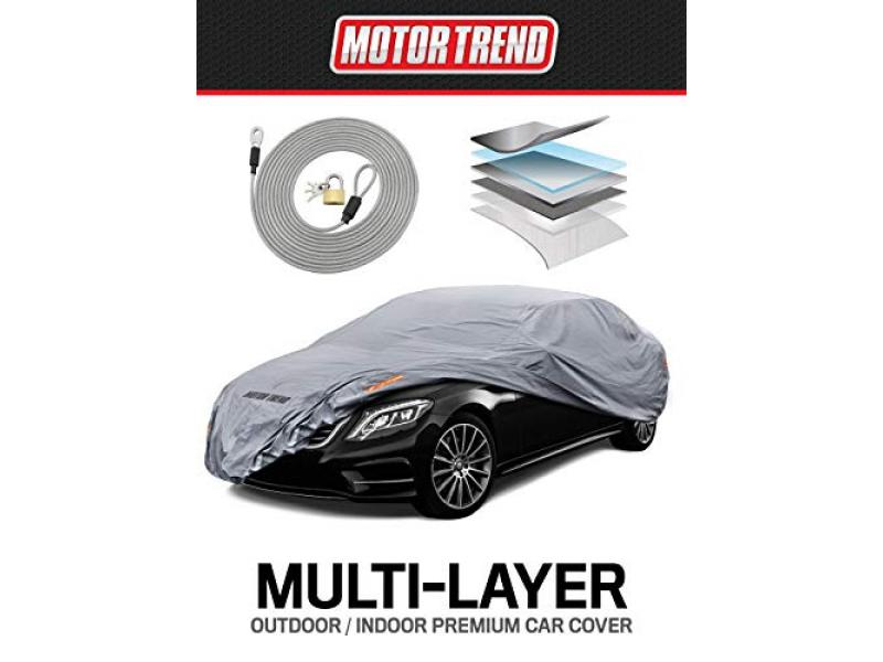 Motor Trend Defender Pro Car Cover 7-Series Waterproof for All Weather