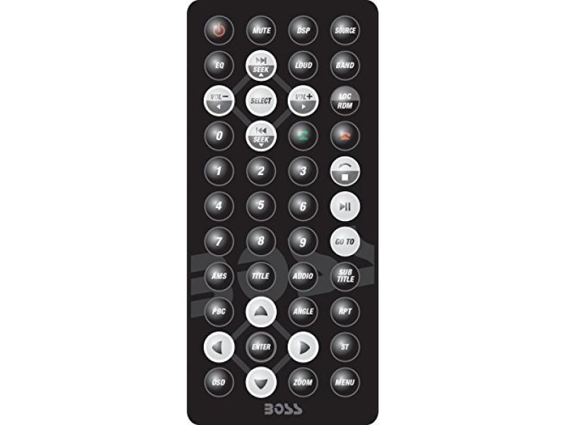 Car Stereo   BOSS Audio BV9362BI Double Din, 6.2 Inch Digital LCD Monitor, Touchscreen, DVD/CD/MP3/USB/SD AM/FM, Bluetooth, Wireless Remote