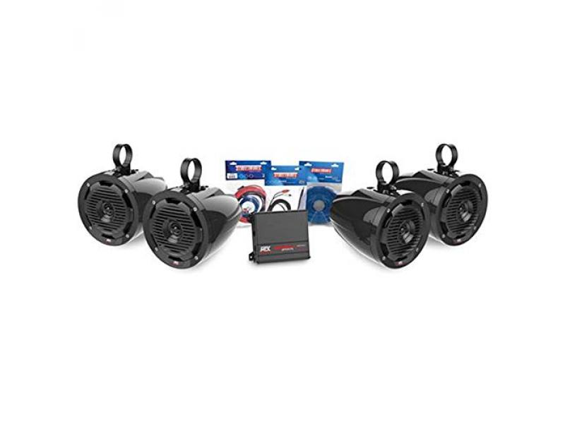 4 Speaker Package (Wired Phone-Controlled)