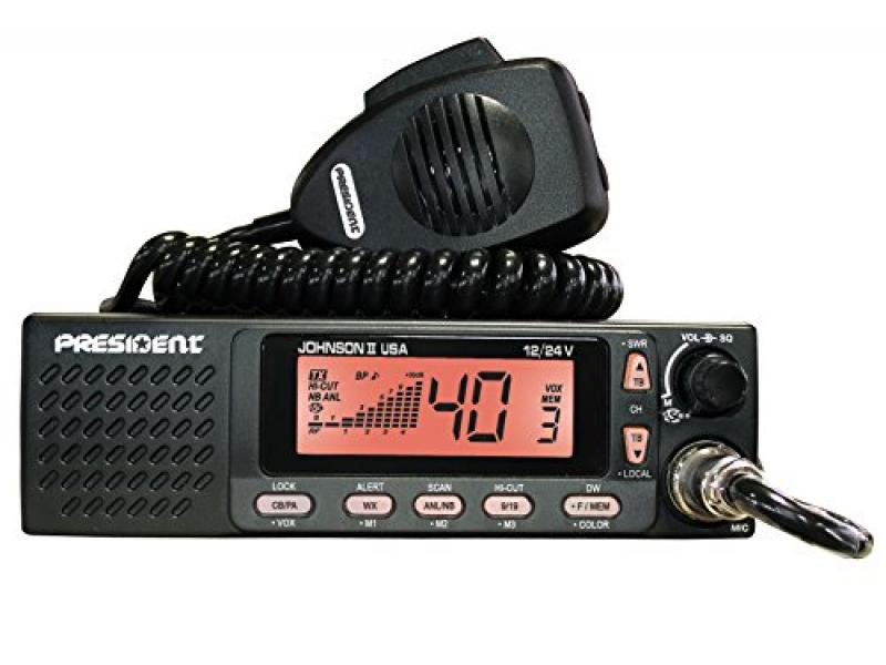 President Electronics Johnson II USA  AM Transceiver CB Radio