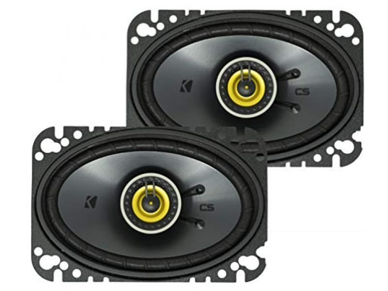KICKER CSC46 CS Series 4 x 6 150 Watt 4 Ohm 2-Way Car Audio