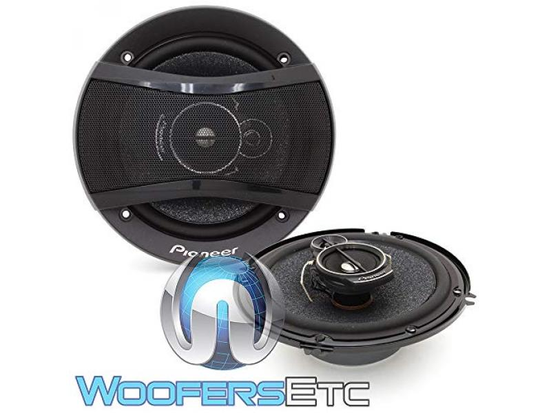 Pioneer TS-A1676S 6.5 320W 3-Way Coaxial Speakers System