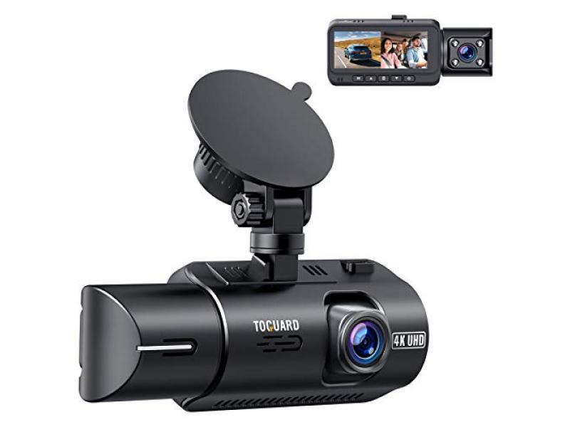 TOGUARD 4K Dual Dash Cam w/GPS