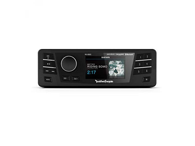 Rockford Fosgate PMX-HD9813 Replacement Radio with Smartphone Connection