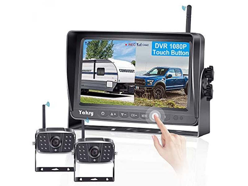 Yakry Y28 FHD 1080P Digital Wireless 2 Backup Camera