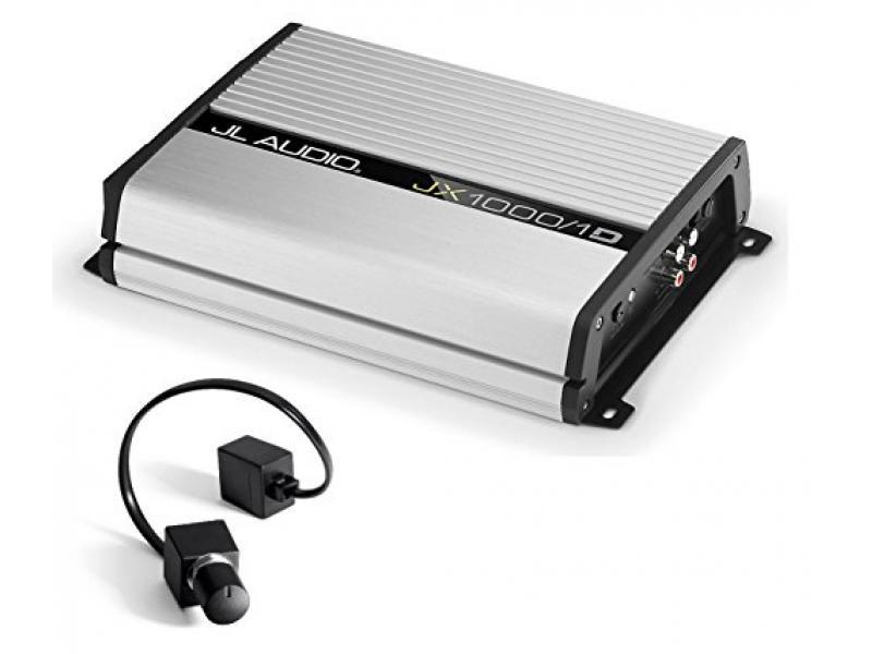JL Audio JX1000/1D 1000 Watt RMS Monoblock Class D Car Amplifier With JL Audio RBC1 Remote Bass Control Photo 1