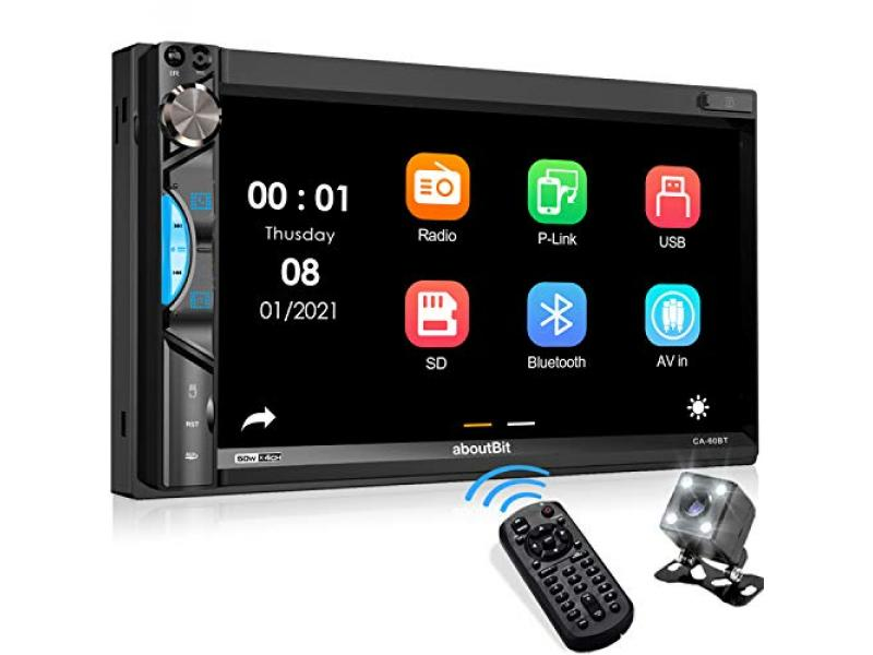 Double Din Car Stereo Receiver