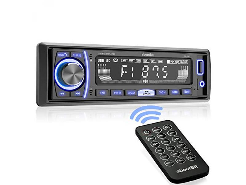Mechless Multimedia Car Stereo - aboutBit Single Din